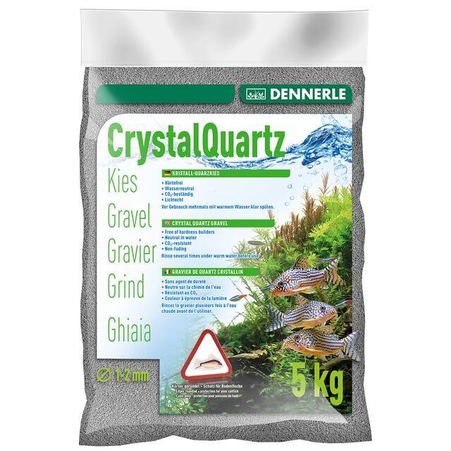 Dennerle - Crystal Quartz Gravel - Slate grey