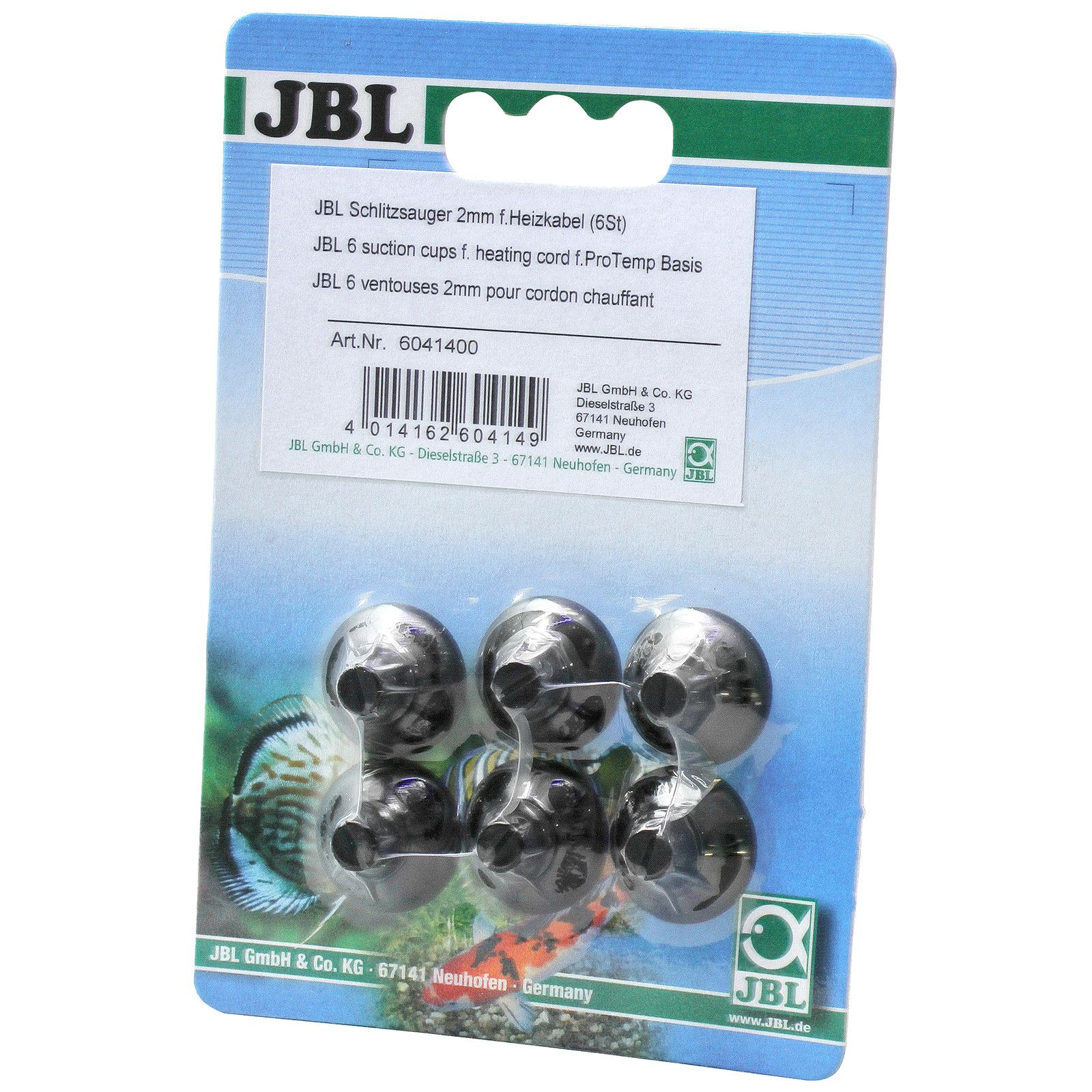 JBL - Slit suction cup for heat cables and temperature sensor - 6x