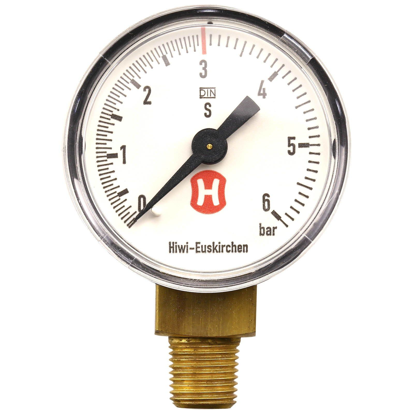 Hiwi - Working pressure gauge - 6 bar