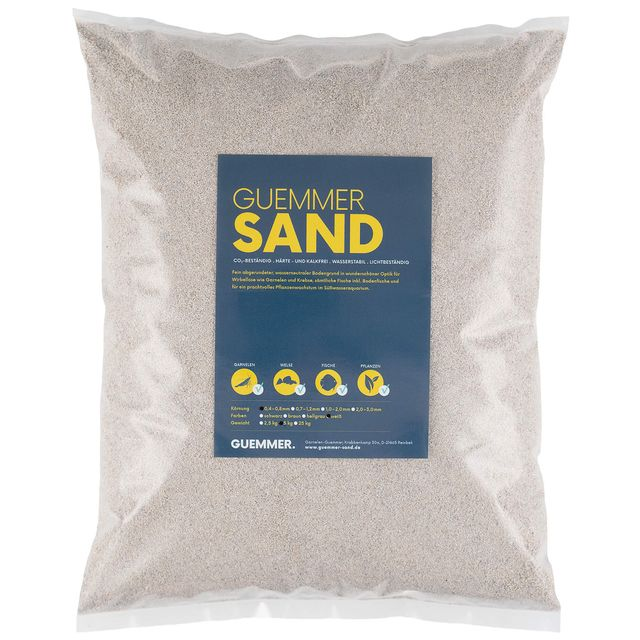 Guemmer Sand - white - 0,4-0,8 mm