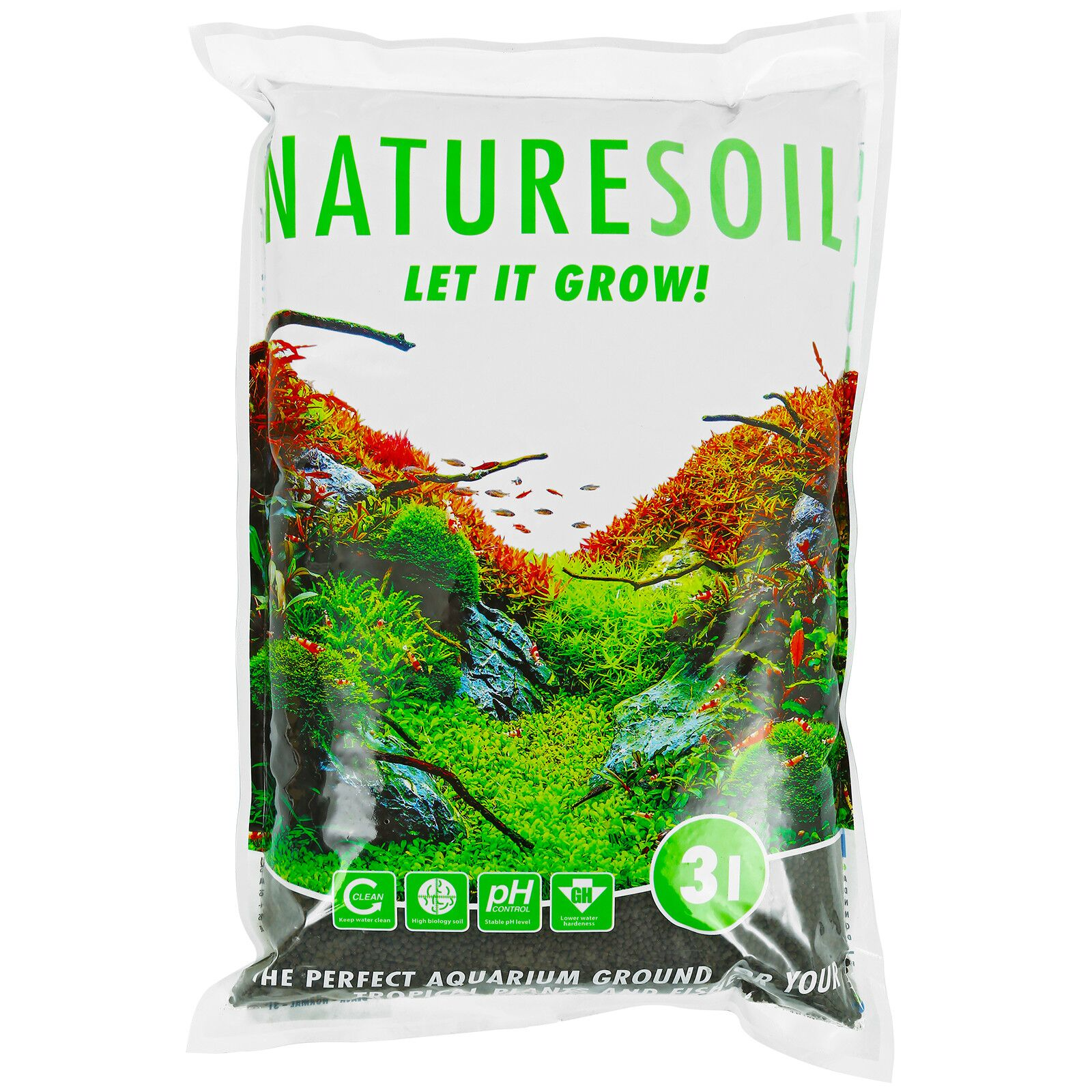 Aquadeco - Nature Soil - black fine