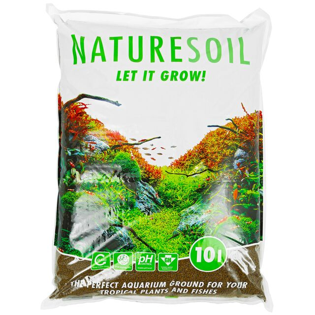 Aquadeco - Nature Soil - brown fine