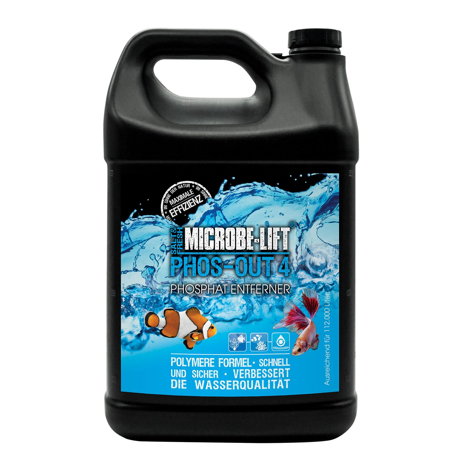 Microbe-Lift - Phos-Out 4 - Liquid Phosphate Remover