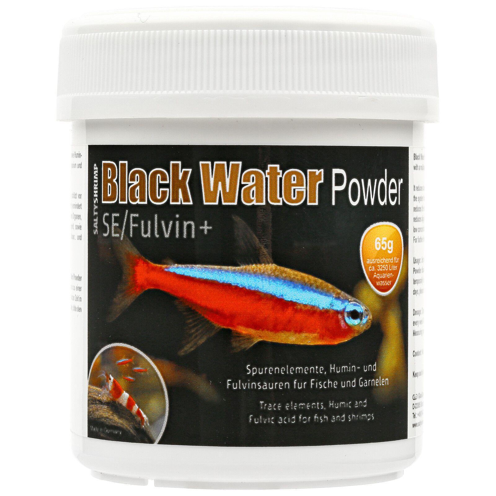 Saltyshrimp Black Water Powder Se Fulvin Aquasabi Aquascaping