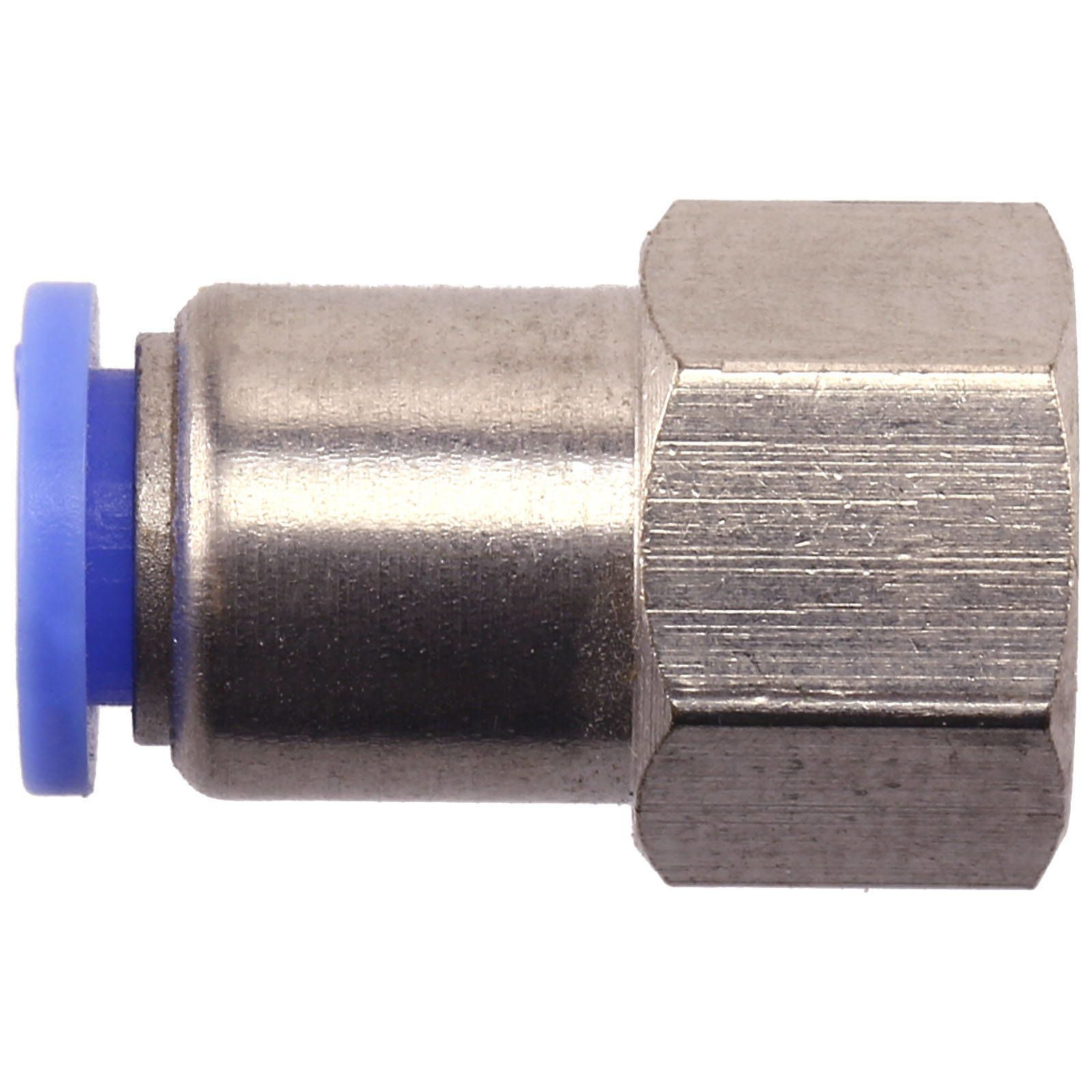 Aquasabi - Straight push in fitting - G1/8 x 6 mm