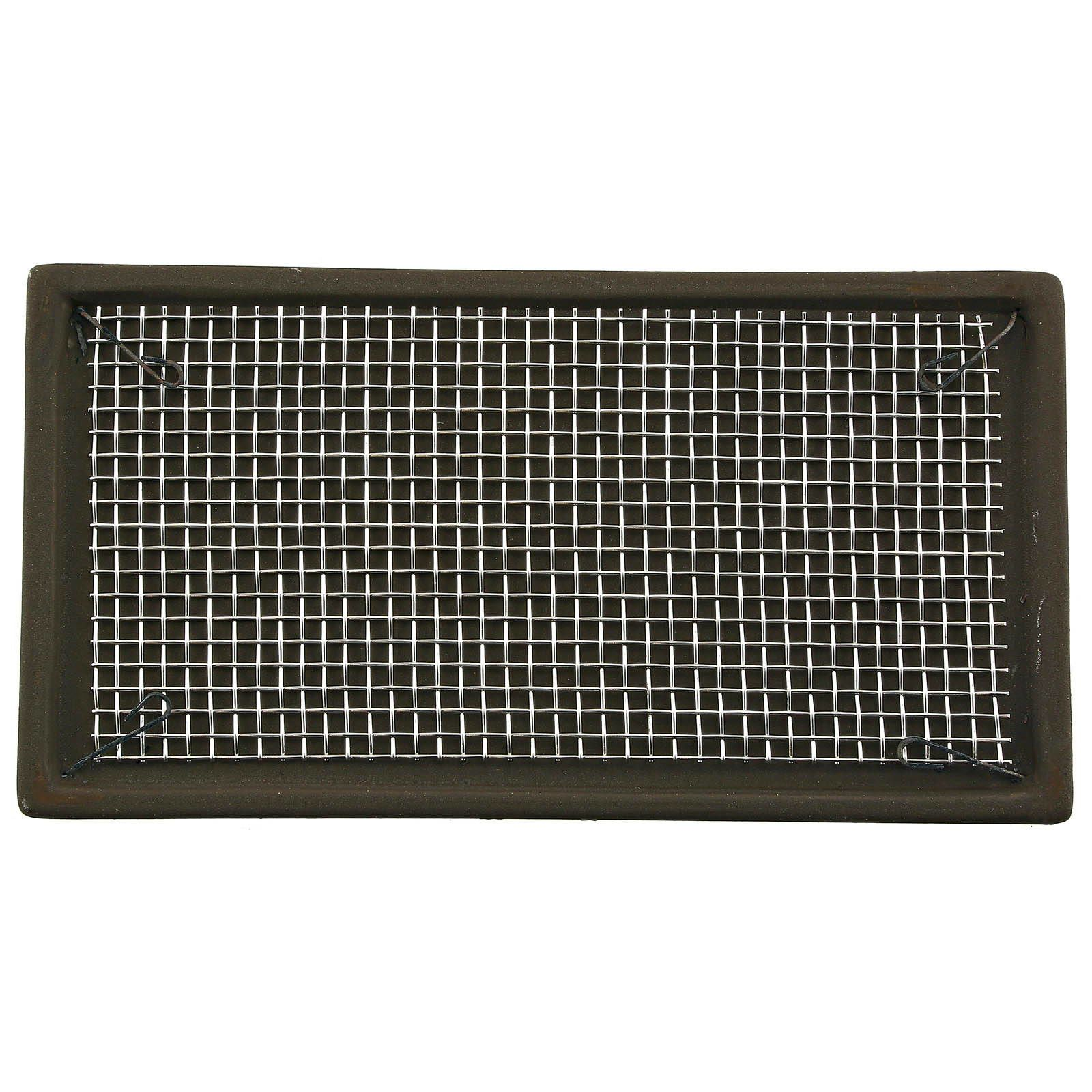 Aquasabi - Ceramic Moss Pad - with stainless steel grid