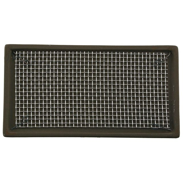 Aquasabi - Ceramic Moss Pad - with stainless steel grid - 10 x 5 cm