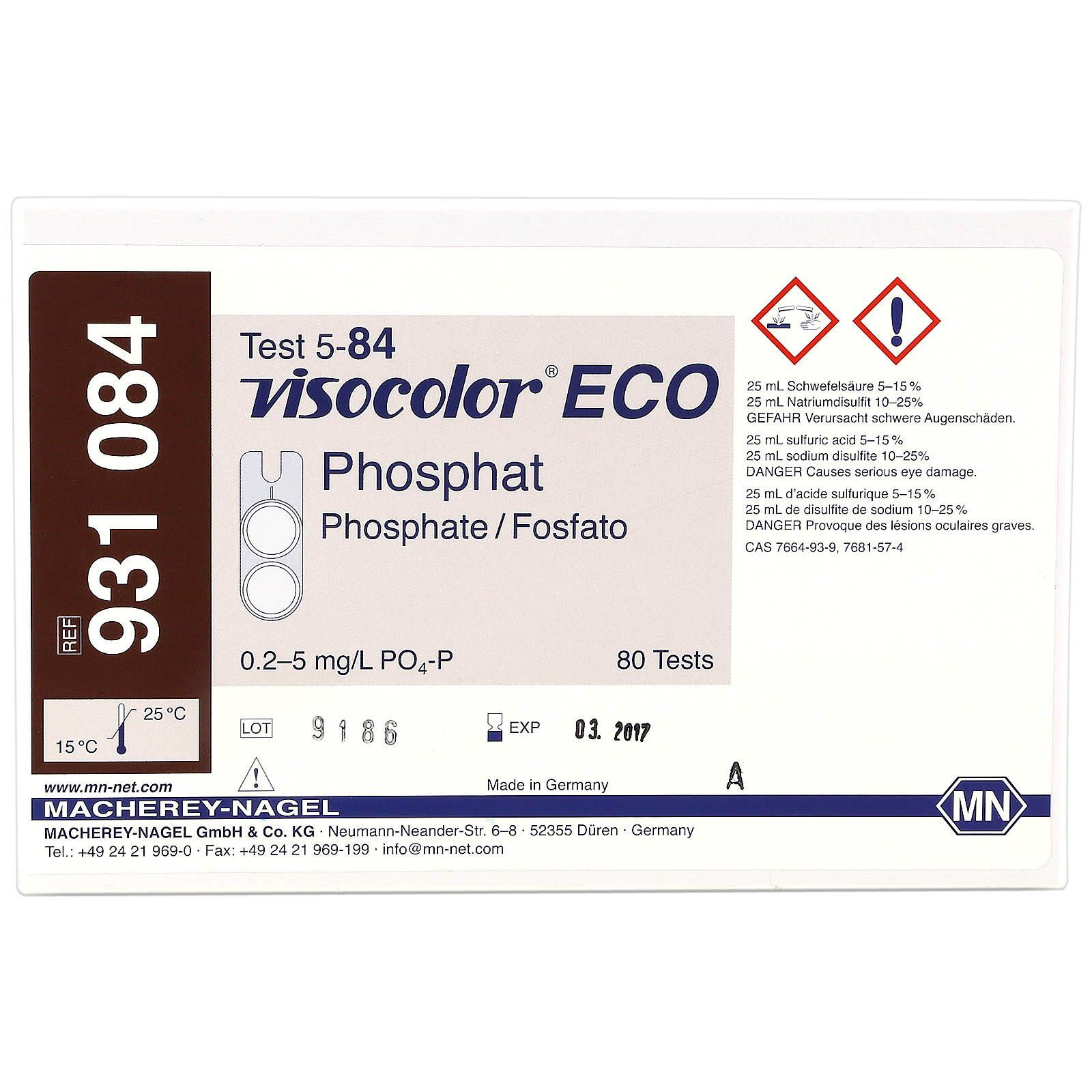 Macherey-Nagel - Visocolor ECO - Phosphate