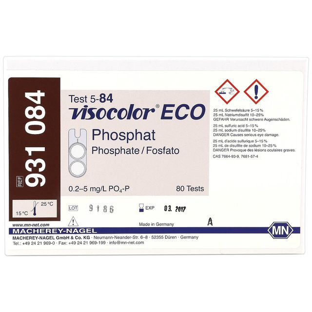 Macherey-Nagel - Visocolor ECO - Phosphate - Test kit