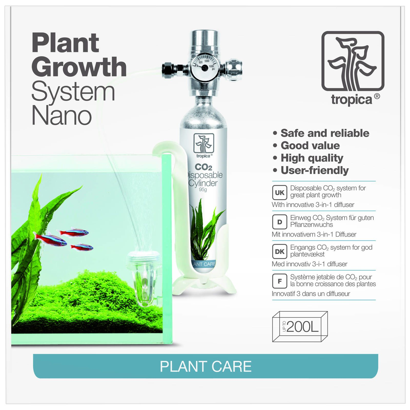 Tropica - CO2 System - Nano - Complete Kit