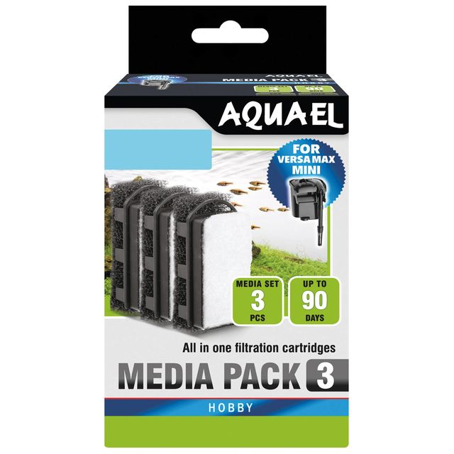 Aquael - Media Pack for Versamax Mini