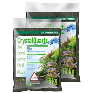 Dennerle - Crystal Quartz Gravel - Diamond black