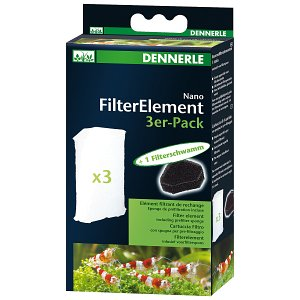 Dennerle - Nano Filter Elements - 3x