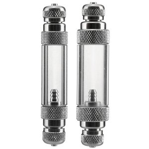 Dici - Aluminium Bubble Counter with Check Valve